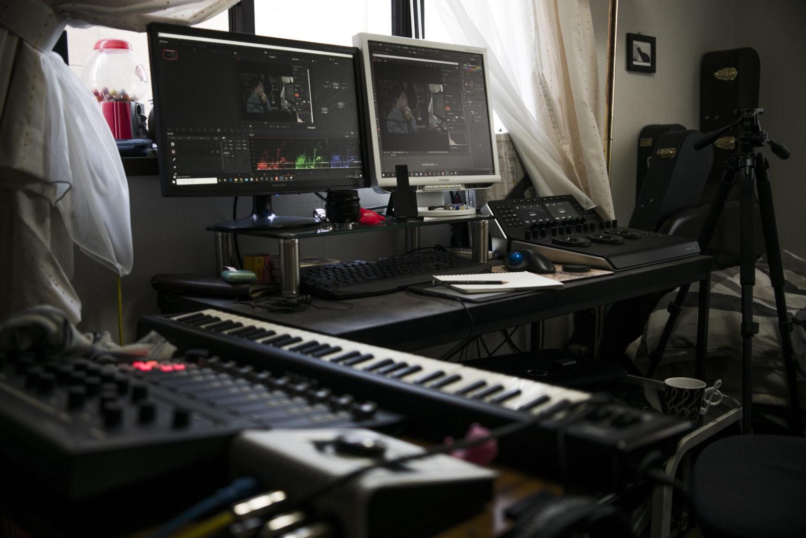 映像 & 音楽制作のオンライン講習を開講!